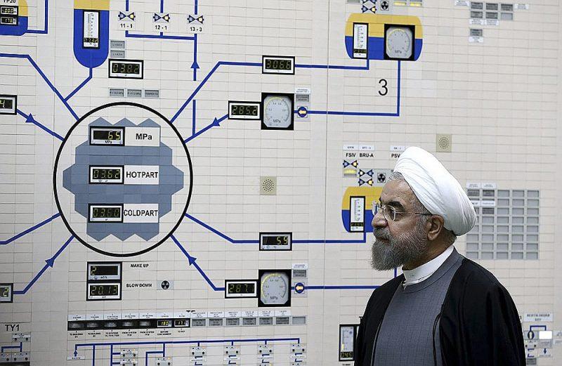 Irānas prezidents Hasans Ruhani pēc kodolobjekta Bušehrā apmeklējuma paziņoja, ka Irāna turpmāk neievēros 2015. gadā noslēgtās kodolvienošanās noteikumus.