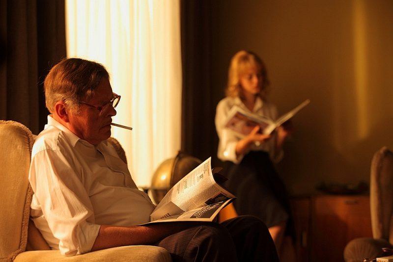 """Kadrs no filmas """"Spiegs, kurš mans tēvs""""."""