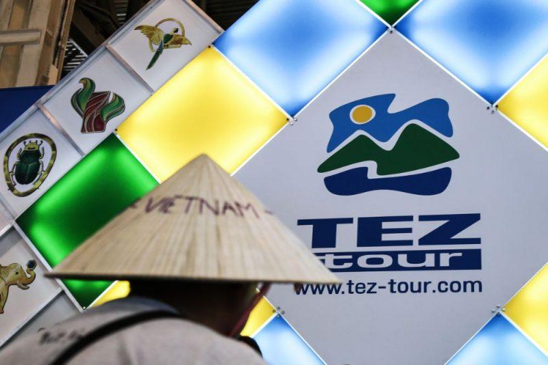 Tez Tour logo.