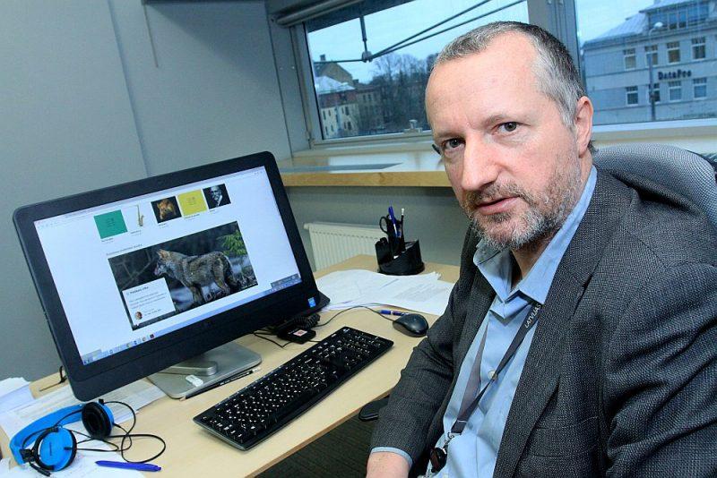 """Valters Ščerbinskis: """"Elektroniskās Nacionālās enciklopēdijas lietotāju skaits visu laiku kāpj."""""""