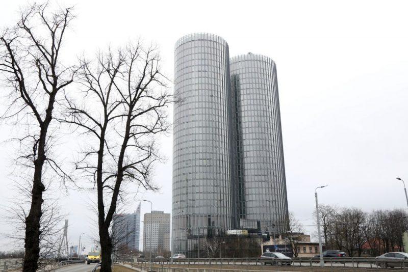 """Daudzfunkcionālais komplekss """"Z-Towers""""."""