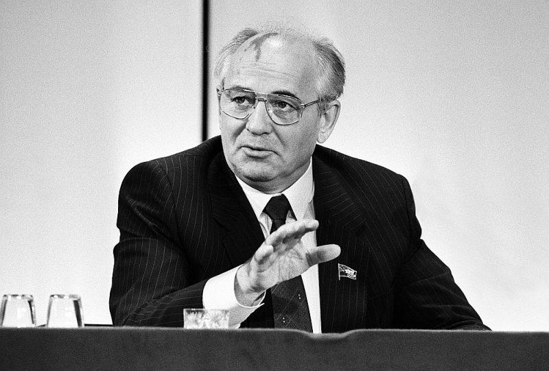 Mihails Gorbačovs 1989. gadā.