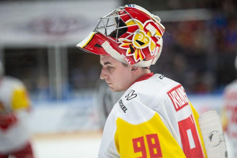 Jānis Kalniņš šosezon vēl vairāk nostiprinājis savas pozīcijas KHL.