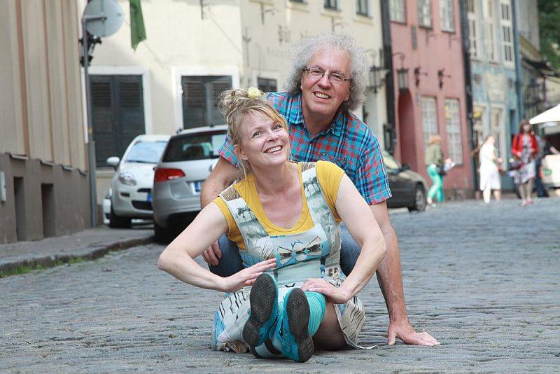 Heli Lāksonena un Guntars Godiņš