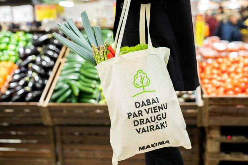 """""""Maxima"""" veikala atklāšana Saharova ielā"""