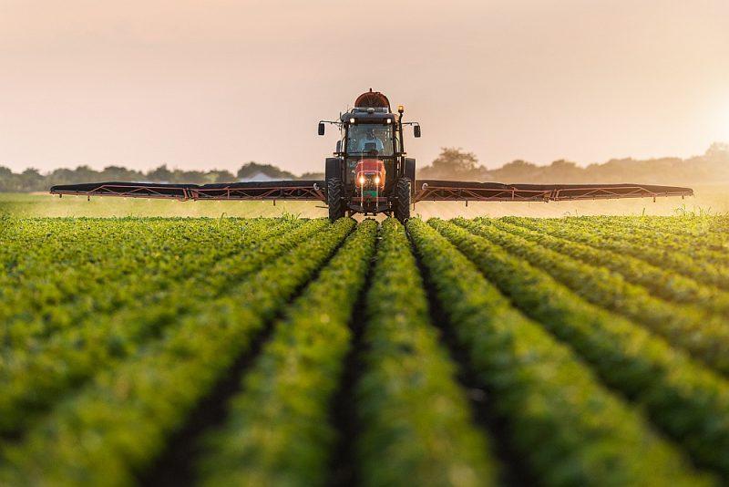 Visintensīvāk pesticīdi tiek lietoti ziemas kviešu sējumos – 1,45 kg uz hektāru.