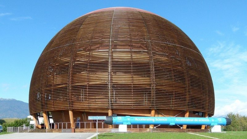 CERN ēka Ženēvā.