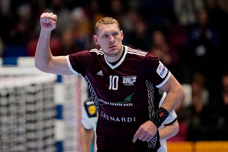 Pasaules handbola zvaigzne Dainis Krištopāns.
