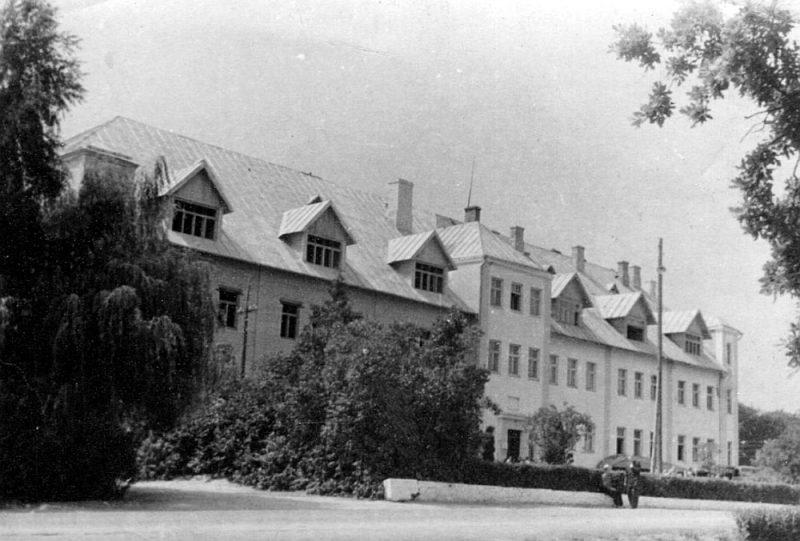 Višķu skola 30. gados.