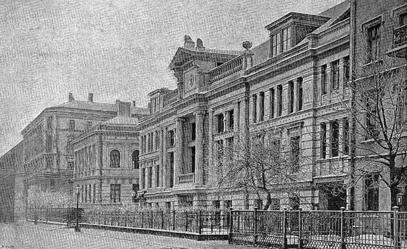 Vecais Latviešu biedrības nams.
