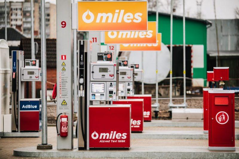 Degvielas uzpildes stacija