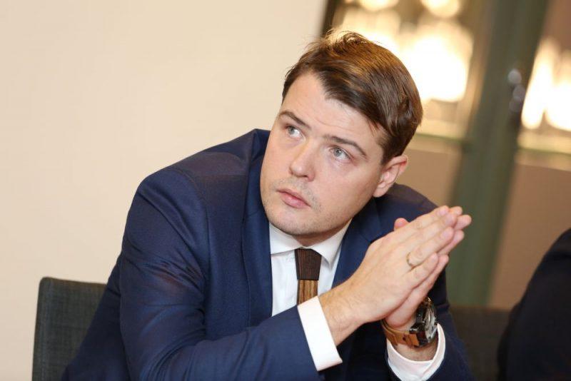 Kristaps Klauss, Latvijas Kokrūpniecības federācijas izpilddirektors.