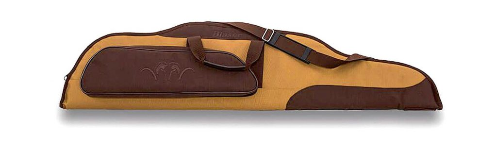 Ieroča somai ir arī aizslēdzams nodalījums aksesuāriem un ērta siksna nešanai. Garums 128 cm.