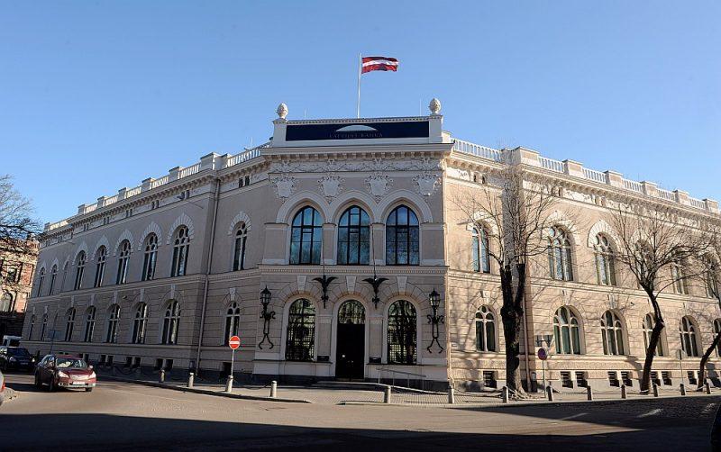 Latvijas Bankas galvenā ēka.