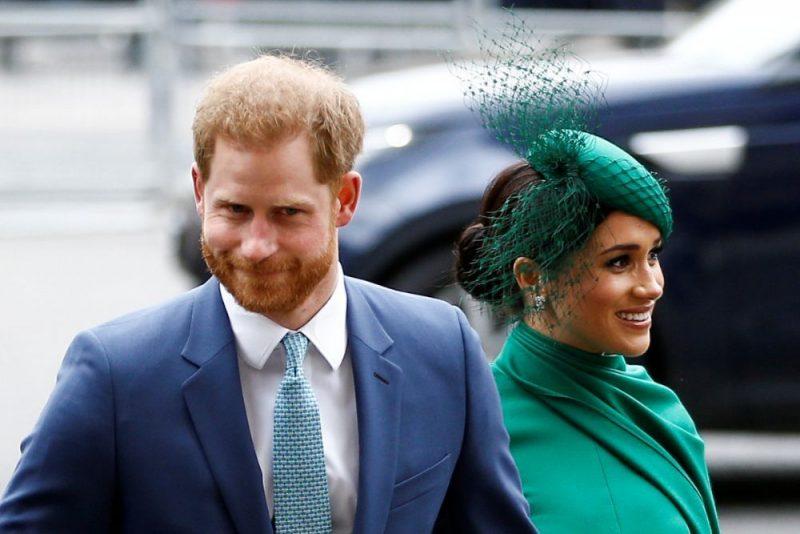 Lielbritānijas princis Harijs un Megana Mārkla