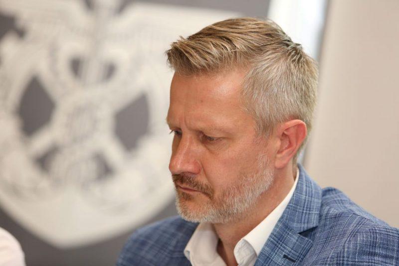Latvijas Tirdzniecības un rūpniecības kameras valdes priekšsēdētājs Jānis Endziņš.