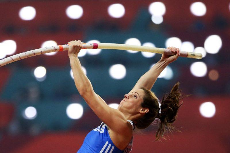 Grieķijas kārtlēcēja Jekaterina Stefanidi uzskata, ka Tokijas olimpiskās spēles būtu jāpārceļ.