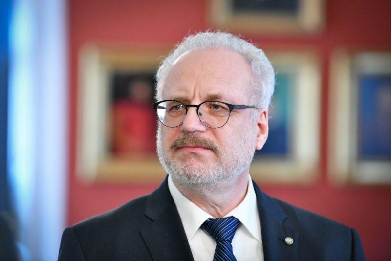 Valsts prezidents Egils Levits.