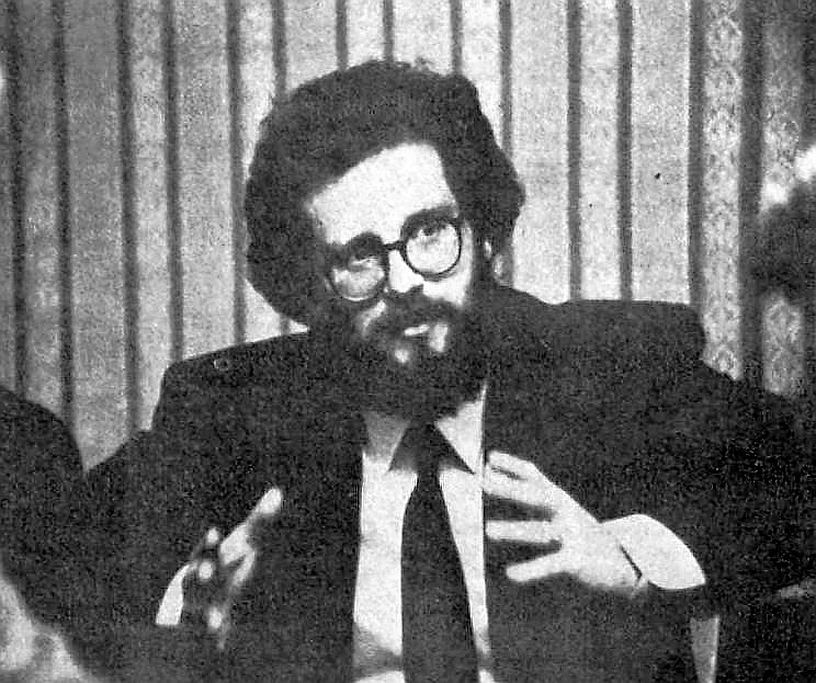 Egils Levits 1990. gadā.