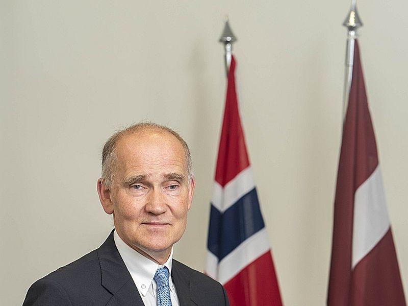 Kristians Ēdegors, Norvēģijas vēstnieks