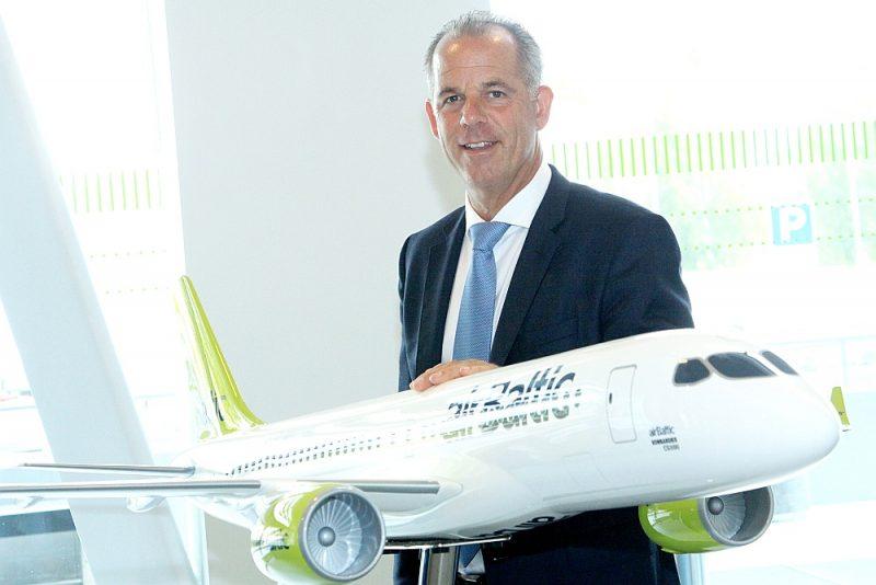 """Martins Gauss: """"Ne visas lidsabiedrības pārdzīvos krīzi, bet """"Air Baltic"""" ir lieliska iespēja no krīzes iznākt vēl spēcīgākai nekā iepriekš."""""""