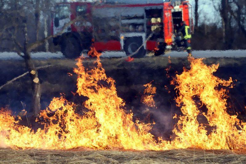 Kūlas ugunsgrēks.