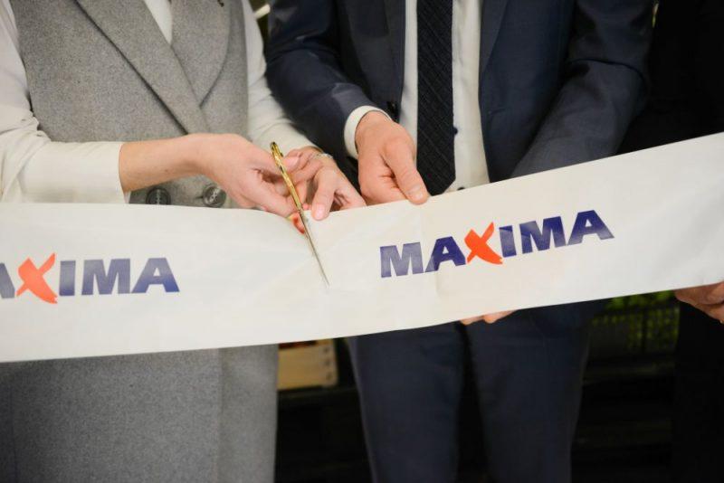 """""""Maxima""""veikalu atklāšana Bauskā un Liepājā"""