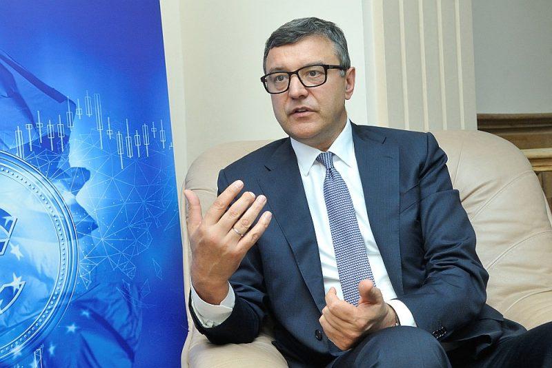 Finanšu ministrs Jānis Reirs.