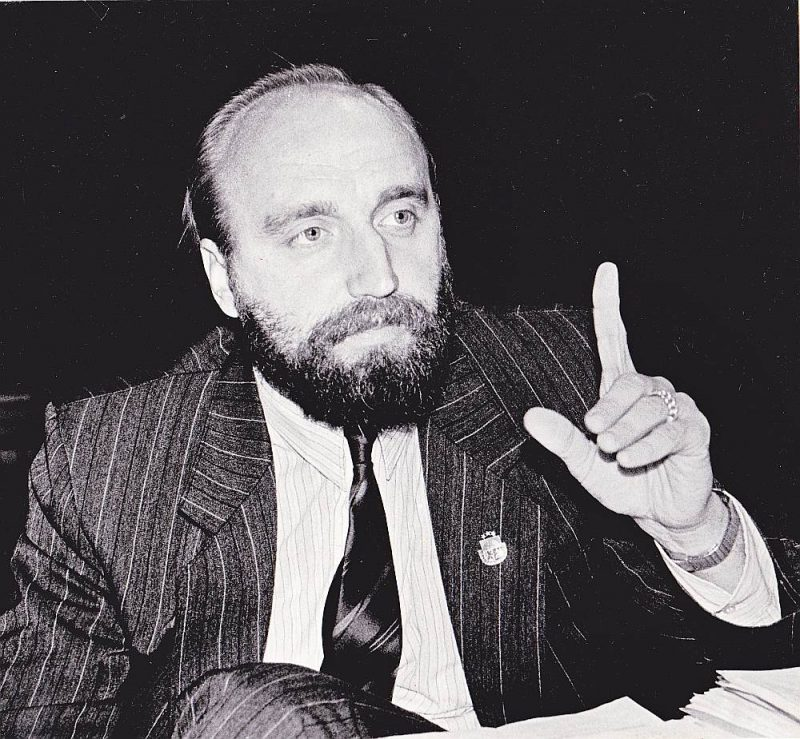 Ivars Godmanis 1992. gadā.