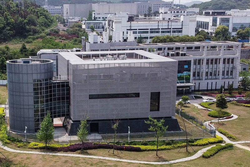Laboratorijas ēka Virusoloģijas institūtā Uhaņā, kur veikta koronavīrusa izpēte.