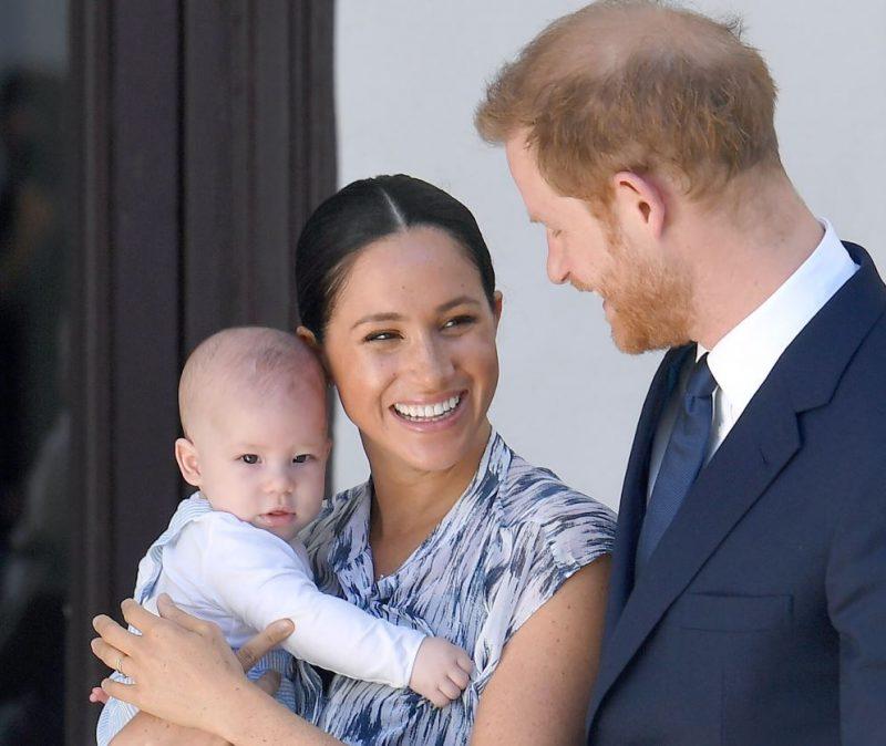 Princis Harijs, Megana Mārkla un viņu dēls Ārčijs.