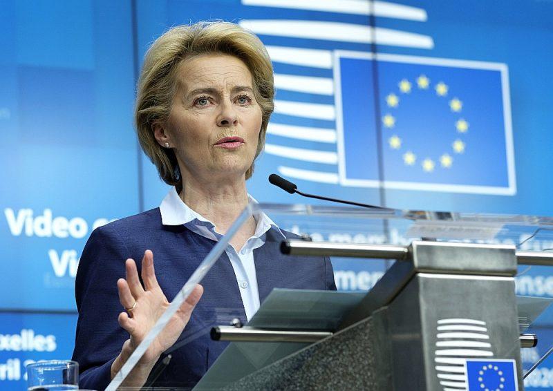 Videokonferencē Eiropas Komisijas prezidente Urzula fon der Leiena aicināja pasaules valstis uz kopīgu rīcību koronavīrusa pandēmijas apturēšanā.