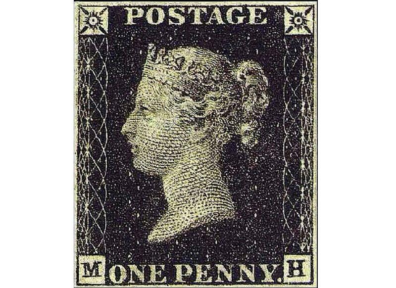 """""""Melnais penijs"""" ir viena no britu kultūras ikonām. 1840. gads."""