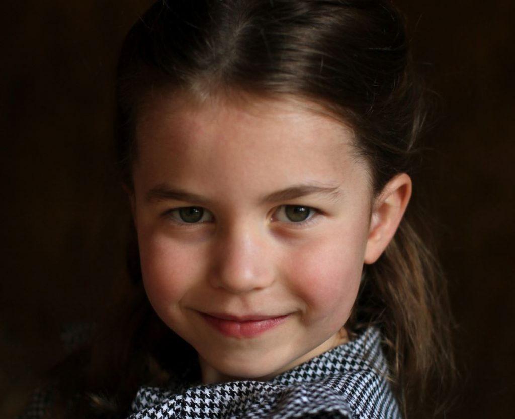 Princese Šarlote nosvin piekto dzimšanas dienu!