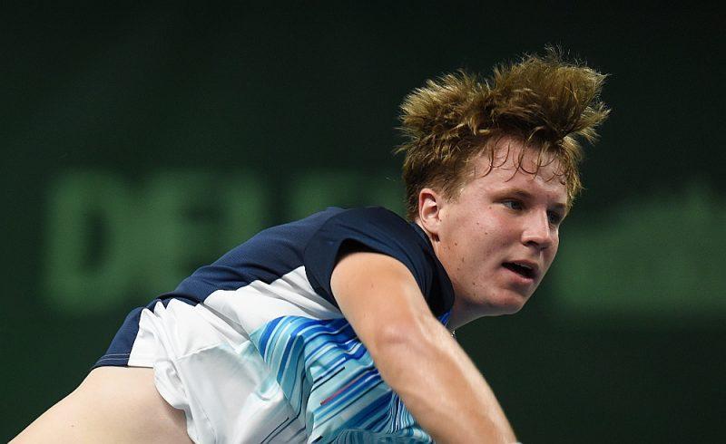 Patlaban 18 gadus vecais Kārlis Ozoliņš Tallinā vēlas iegūt pārliecību, ka var spēlēt pret pieaugušajiem.