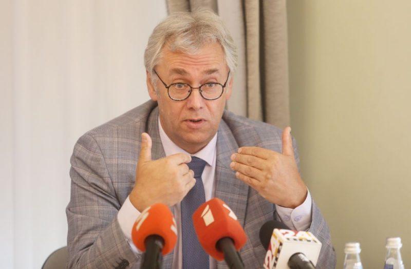 Slimību un profilakses kontroles centra Infekcijas slimību un profilakses departamenta direktors Jurijs Perevoščikovs.