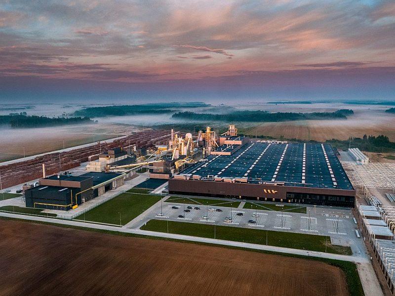 Jaunā rūpnīca ir pagaidām vērienīgākā tāda veida būve Eiropas Savienībā.