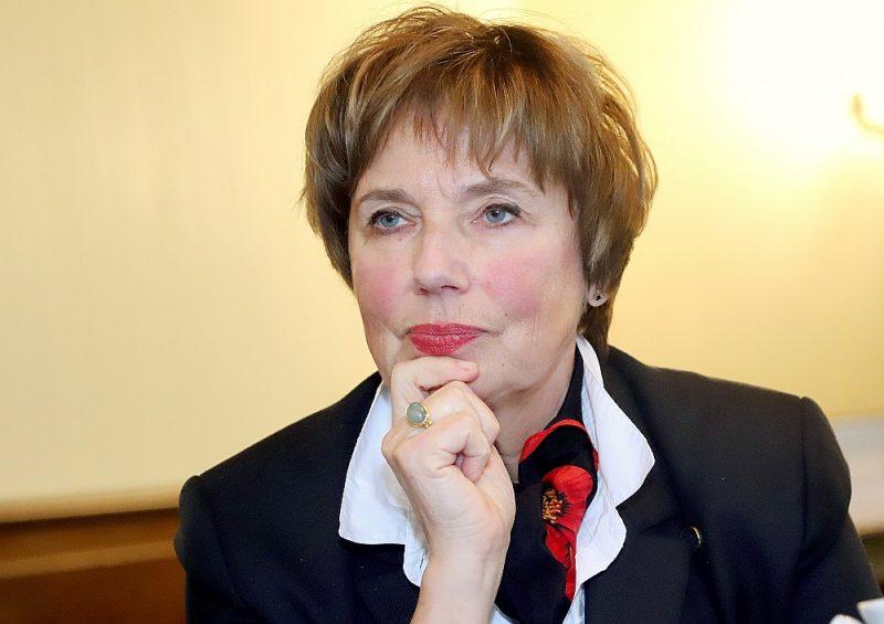 """Dagmāra Beitnere-Le Galla: """"Sastapt intelektuāli akadēmisku konservatīvo ir liels retums. Man ir vēsturnieces izglītība un socioloģijas doktores grāds. Pēc definīcijas man vajadzētu būt liberāli demokrātiskai un darboties attiecīgā partijā."""""""