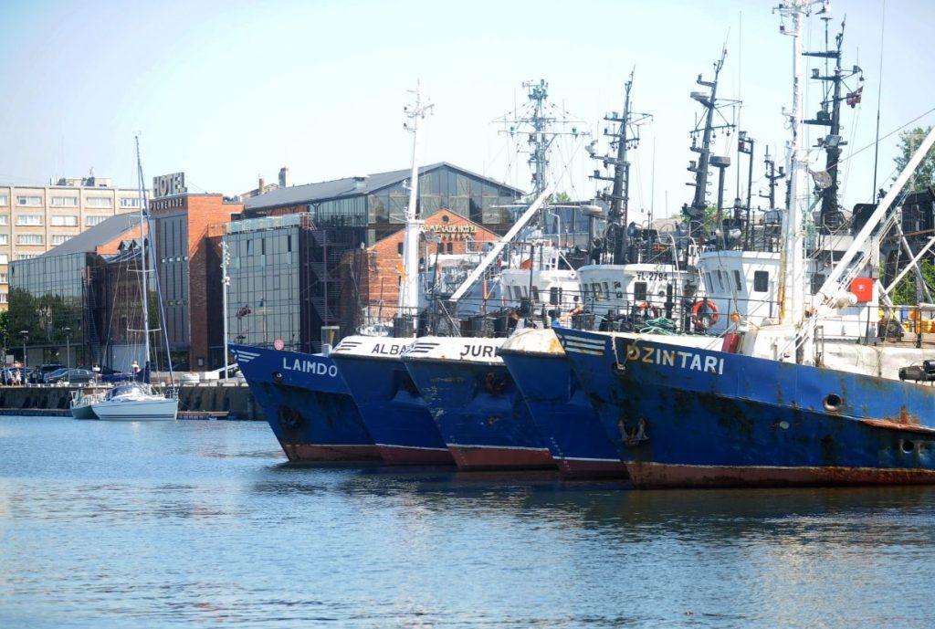 Kravas kuģi Liepājas ostā. Ilustratīvs attēls.