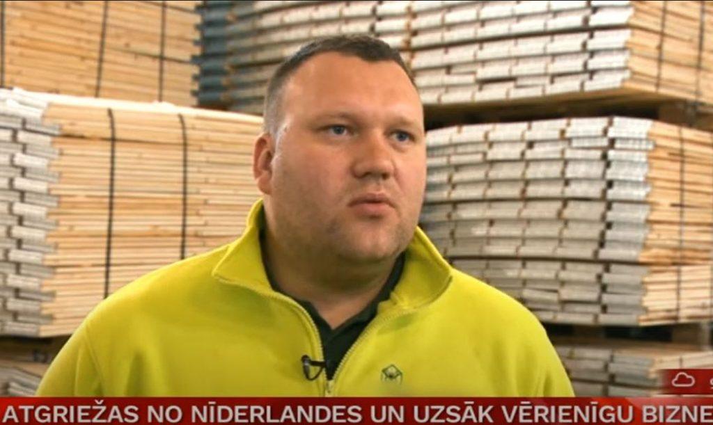 Uzņēmējs Kaspars Elarts.