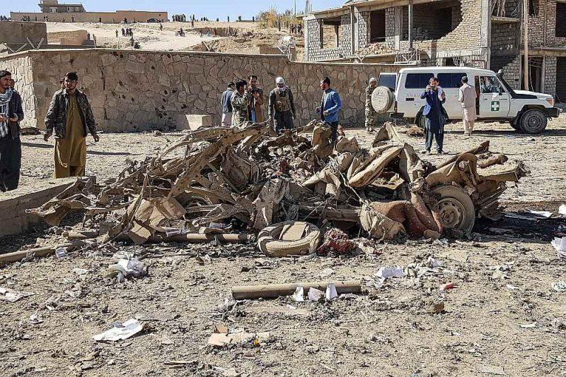 Bumbas sprādzienā 18. oktobrī pie Afganistānas policijas iecirkņa ēkas Ghoras apgabalā gāja bojā 12 civiliedzīvotāji un vairāki desmiti tika ievainoti.