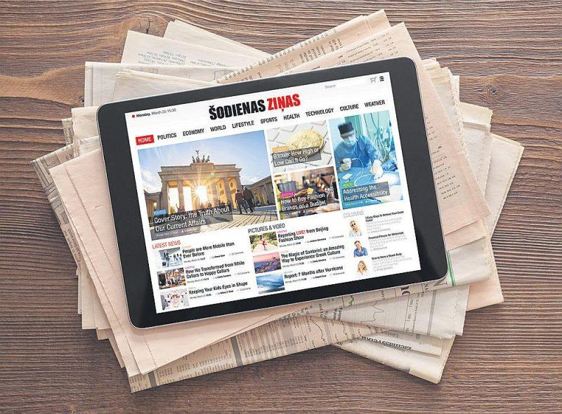Vienotā drukāto mediju digitālajā platformā cilvēkiem būtu vienkāršāk uzzināt, kas notiek Latvijā.