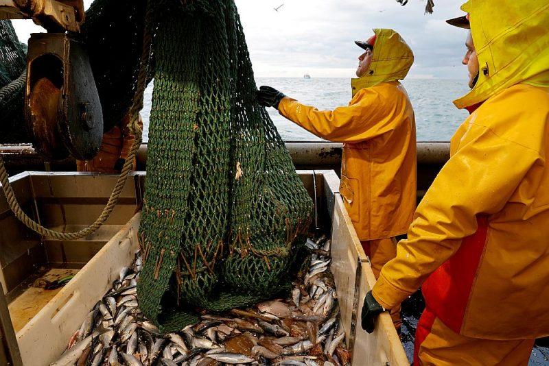"""Franču zvejas kuģim """"Nicolas Jeremy"""" pēc 1. janvāra būs liegts zvejot britu ūdeņos Ziemeļjūrā."""