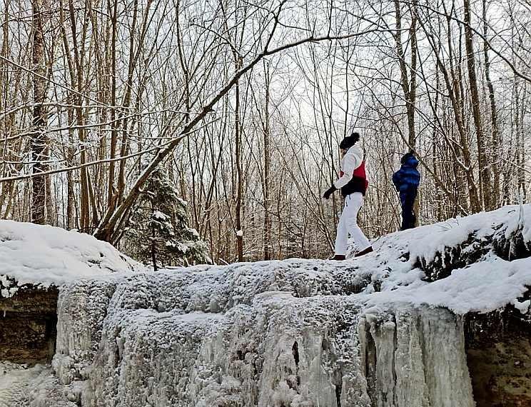 Daudas ūdenskritums Siguldā