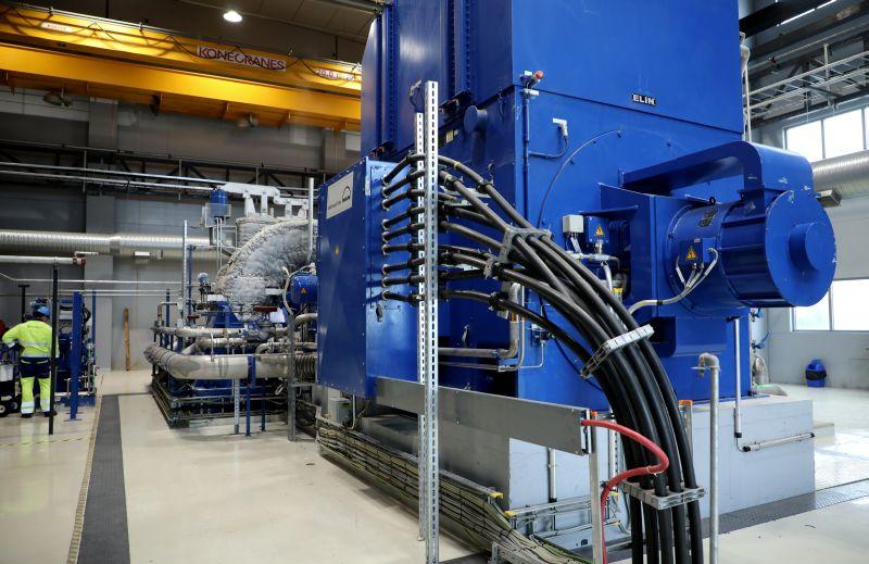 """""""Fortum"""" Biomasas koģenerācijas stacija Jelgavā."""