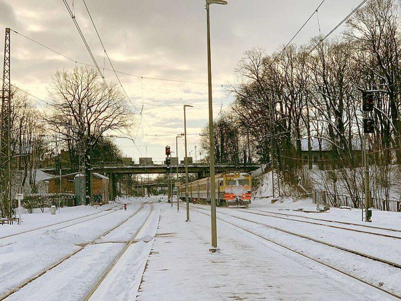 Topošās dzelzceļa trases sākotnējā inženiertehniskajā izpētē secināts, ka Friča Brīvzemnieka ielas pārvadu (attēlā), Altonavas un Torņakalna ielu vēsturiskos pārvadus nāksies nojaukt, jo tie atrodas līnijā, kur paredzēts būvēt tuneli. Tunelis atradīsies zem šā brīža dzelzceļa sliedēm un virszemē iznāks pirms Liepājas ielas pārbrauktuves.