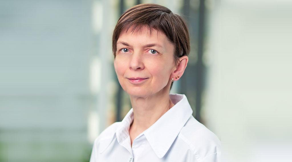 """""""Veselības centru apvienības"""" (VCA """"Aura"""") dermatoloģe Ilze Jākobsone."""