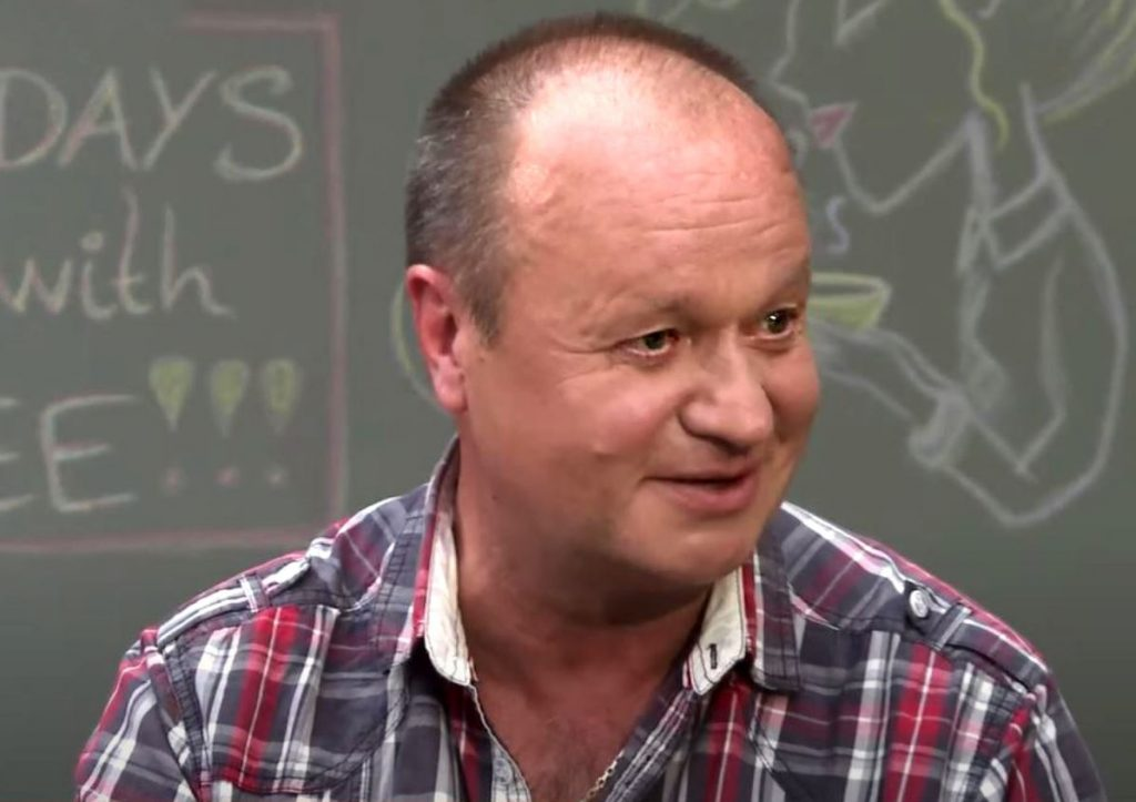 Aktieris Jānis Jarāns.