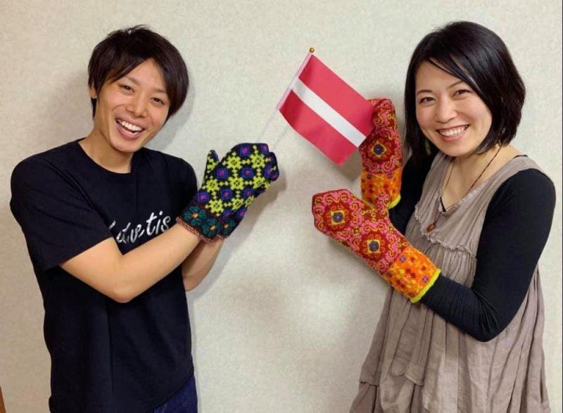 Masaki Nakagava un Ai Suzuki Aijiņa .
