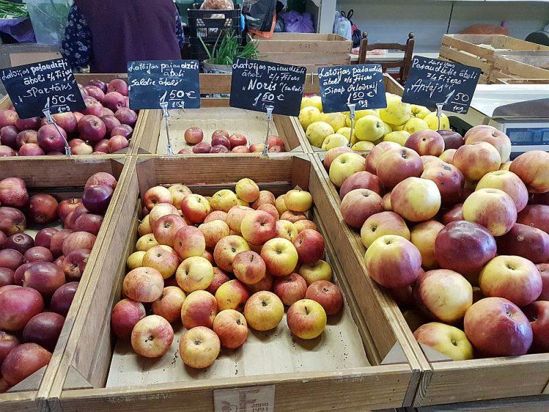 Kaut arī ābolu raža pieaugusi par 41%, taču vietējā tirgū piedāvājums nespēj nodrošināt pieprasījumu.